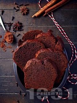 Шоколадов сладкиш с кафе и какао - снимка на рецептата